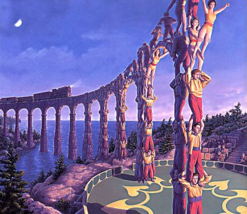 magrittee:  Rob Gonsalves - Acrobatic Engineering