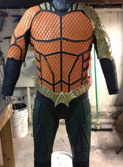 The Ultimate Aquaman cosplay outfit!