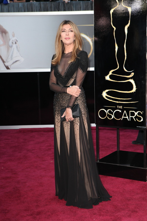 The Oscars Red Carpet 2013: Nina Garcia. Photo: New York Times.