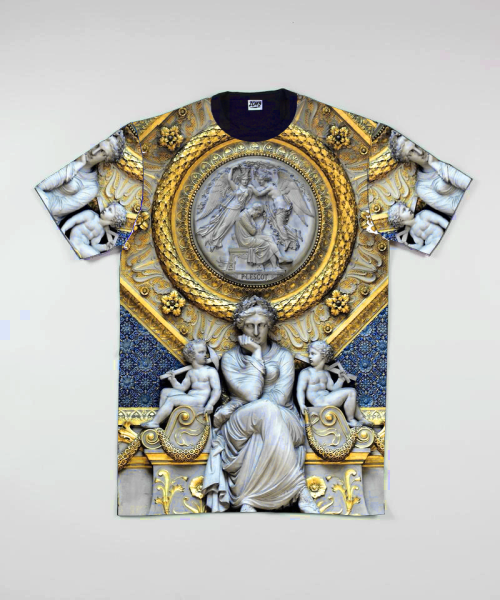 ///Zomb. RE-FORMED Premium Statue Louvre Tee  Available soon at: www.zombclothing.co.uk