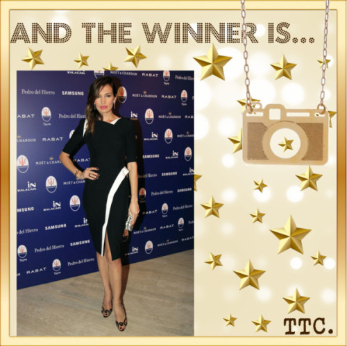 And The Winner Is… Nieves Álvarez por threetrendycorners en PolyvoreBijoux | Colares | Colar Câmera Fotográfica Vazada Dourado | Amomuito…