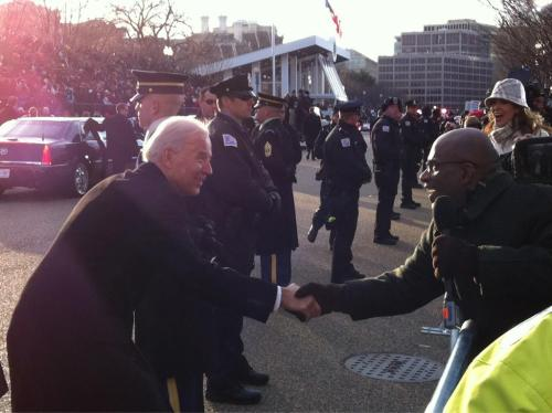 Al Roker and Joe Biden. This was seriously the best.