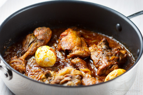 Doro Wat - Ethiopian Spicy Chicken Stew - Made with our Berbere Spice Kit