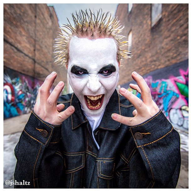 jasonshaltz:  #Monoxide of @officialtwiztid. #Twiztid #detroit #scream