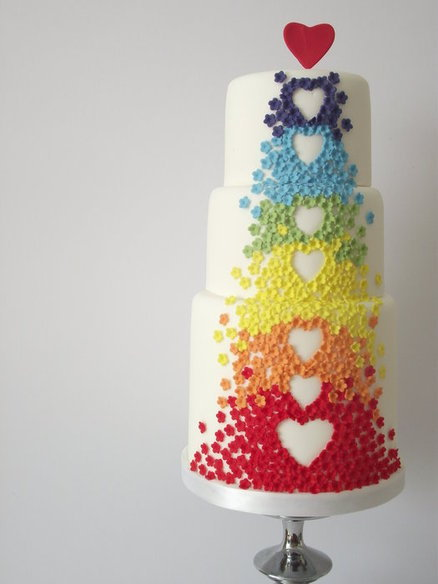 who loves rainbow cake by cakes decor
