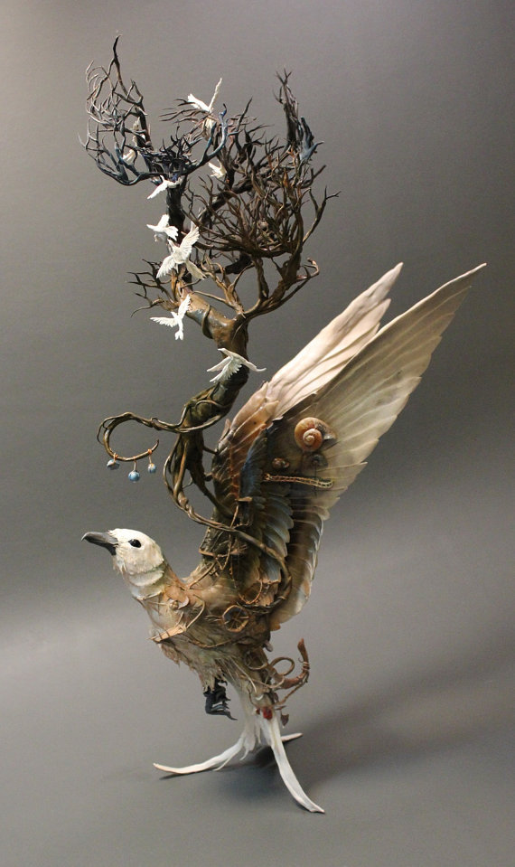bubblejam:   The incredibly intricate and captivating custom animal sculptures by Creatures From El, Ellen June.
