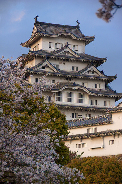 japanesse-life:  Himeji Castle by Stephen Nesbitt on Flickr.