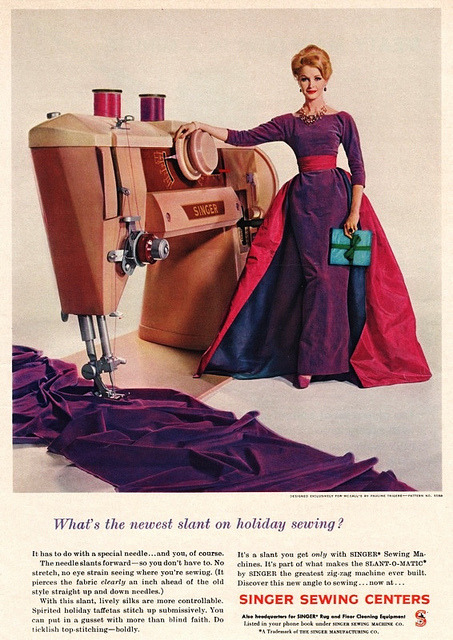 oldadvertising:   1960 by dovima_is_devine_II on Flickr.