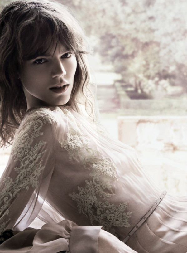 deprincessed:  Today is Freja day, let us all remember her. Freja Beha Erichsen in the 'Valentina Acqua Floreale' perfume ad campaign for Valentino