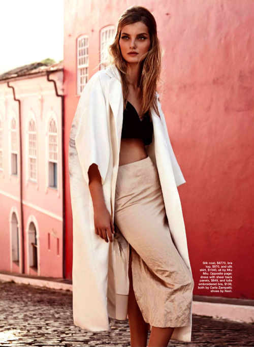 leahcultice:  Denisa Dvorakova by Nicole Bentley for Marie Claire Australia, April 2013