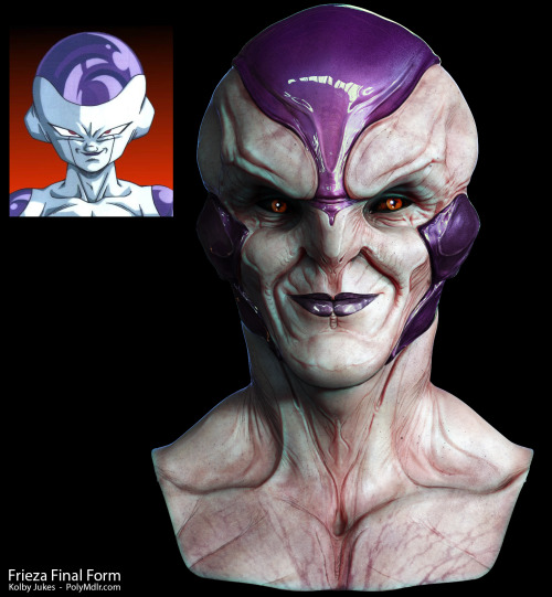 My redesign of Frieza from Dragon ball Z. High-Res Image