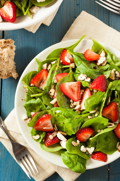 Strawberry Balsamic Salad  Brent Hofacker Photography
