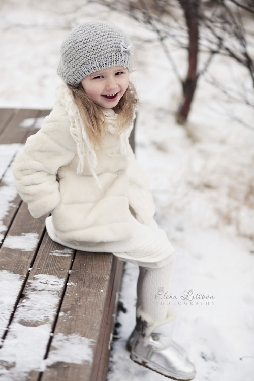 snowy day (by Elena (Litsova) Sigtryggsson)