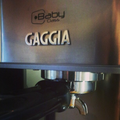So happy with my new espresso machine!