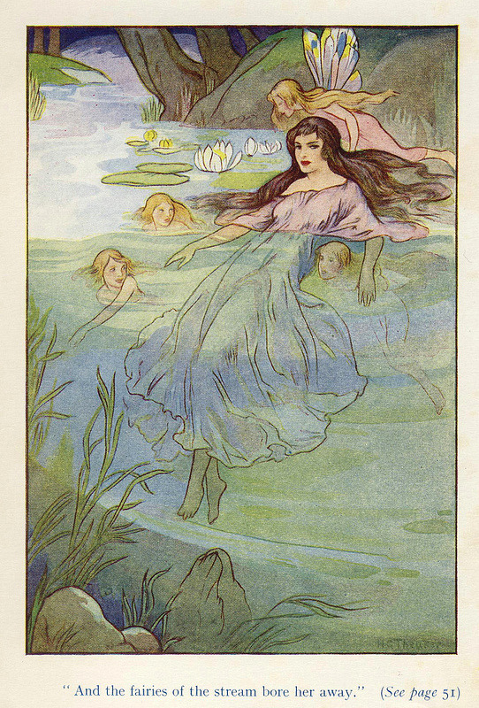 sisterwolf:  Harry G Theaker - from the Water Babies by Charles Kingsley