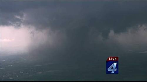thousandyearsbunny:  A shot from the Moore OK tornado that hit today.