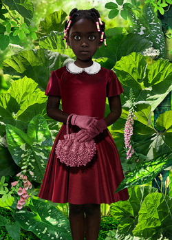 art-history:  Ruud van Empel World #28  2008 Cibachrome  33 x 47 in.