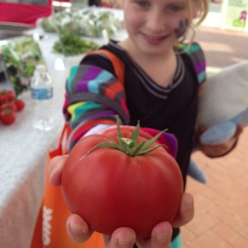 RealFood Farm Tomatoes. #GrandRapids #LocalFood  (at Downtown Market)