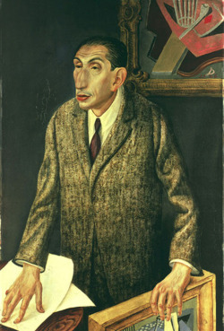 Otto Dix - The Art dealer Alfred Flechtheim (1926)