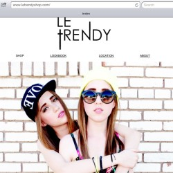 New lookbook- www.letrendyshop.com
