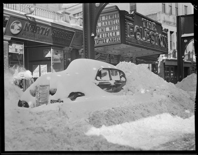 Digging out auto by Boston Public Library on Flickr.A bit snowy…