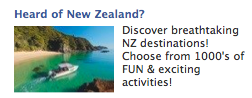 Heard of New Zealand?