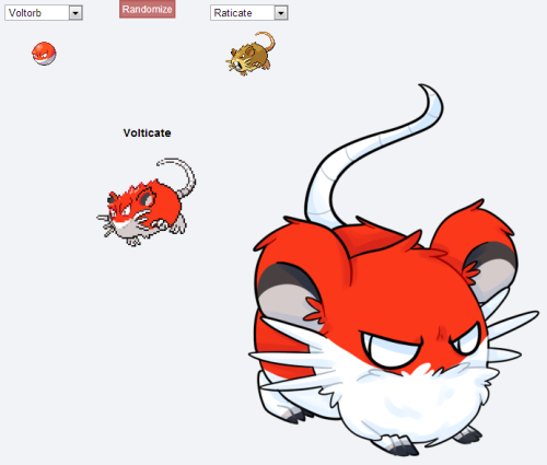 i wanted to do a pokemon fusion like all the cool kids okay