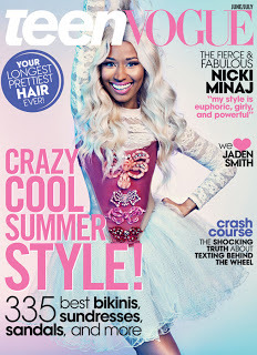 (via Glossy Newsstand: TEEN VOGUE JUNE/JULY 2013)