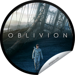 I just unlocked the Oblivion Box Office sticker on GetGlue                      7524 others have also unlocked the Oblivion Box Office sticker on GetGlue.com                  Thank you for seeing Oblivion in theaters! We hope you enjoyed this futuristic thriller starring Tom Cruise. Share this one proudly. It's from our friends at Universal Pictures.