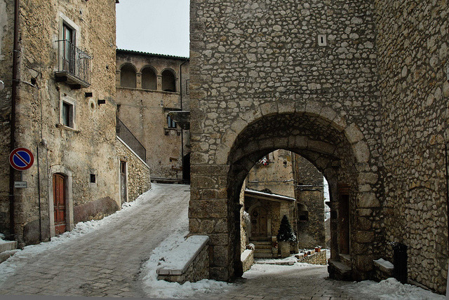 | ♕ |  Gateway of S. Stefano, Abruzzo  | by © Rosarian49