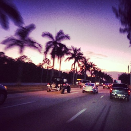 alltheendlesspossibilites:  #miami #florida #miami dade # sunset