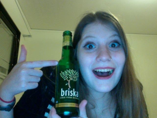 whereintheworldisanne:   FIRST LEGAL DRINK ALERT! So, in Sweden, you can buy large quantities of alcohol from the government run alcohol store when you are 20 years old. I am 19 (which also means I can't drink back in the US) so thankfully while at restaurants and clubs and such, when you are 18, you can buy drinks! So, tonight at one of the pubs/clubs on campus was open tonight and I bought my first legal drink!