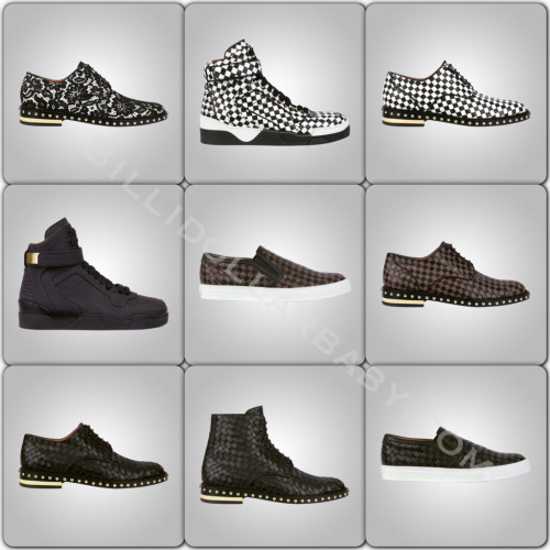 Givenchy Pre-Fall 2013 Mens Footwear Collection