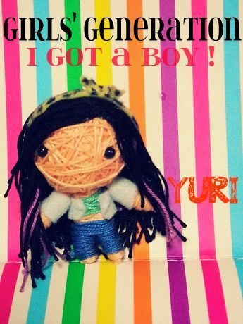 theknottyloft:  GIRLS' GENERATION - I GOT A BOY - YURI KPOP STRING DOLL