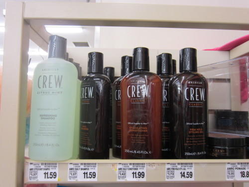 American Crew products, taken at a King Soopers in Denver, Colorado on May 19, 2013.