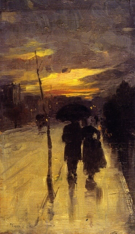 mventus:  Tom Roberts - Going home c.1889.