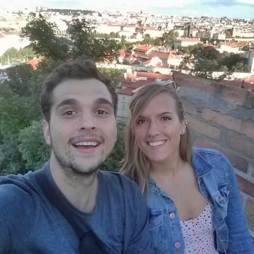 Oops, we're in Prague! #wemadeit #europe #Praha #Prague #beauty #travelbug #backpackers #twins