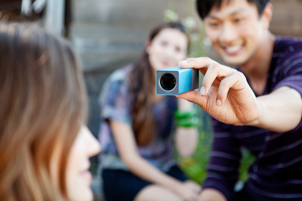 "inspirezme:  Meet the camera that is making photography easier than you could have ever imagined. Lytro uses a new type of light senor that records the entire light field. This means that after you take a photo, you are able to adjust the focal area. The Lytro website features a section that allows you to try out the re-focusing process like you would if you actually owned the camera. This mind-blowing technology has professional photographers scrambling and questioning what photography means. The people behind Lytro what to reinvent what it means to take a photograph. ""By capturing the light field, you can do incredible things. Like refocus pictures after you take them. Tap the touchscreen on whatever part of the picture you want to bring into focus — or, once a picture is imported into your computer, click to refocus."" (Full article - Including video of how it all works)"