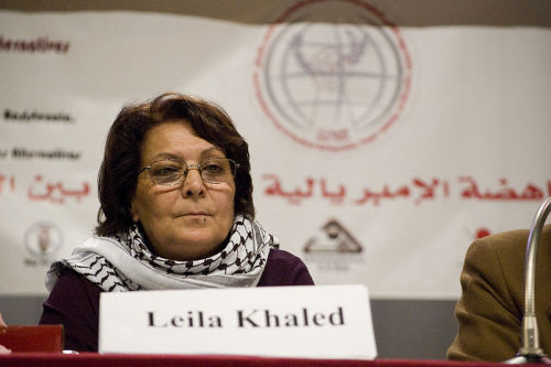 Video: Harry Fear interviews Leila Khaled of the PFLP in Gaza Harry Fear holds in an exclusive interview with Palestinian resistance icon Leila Khaled, a former aircraft hijacker and member of Palestine's PFLP faction in Gaza. They discuss the issue of Palestinians' armed struggle with Israel.Read more: http://www.digitaljournal.com/article/350467