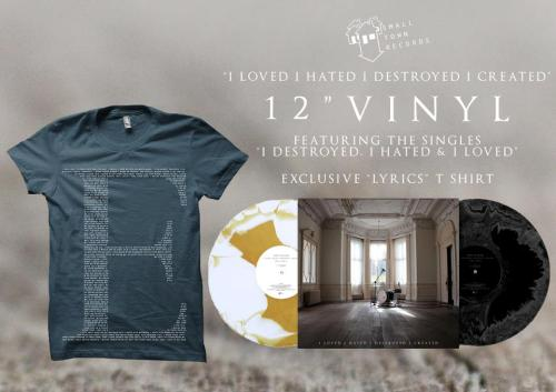 "To celebrate Record Store Day we are releasing our debut album ""I Loved I Hated I Destroyed I Created"" on 12"" Vinyl! Available to pre- order now from http://smalltownrecords.bigcartel.com/product/the-elijah-i-loved-i-hated-i-destroyed-i-created-12-vinyl-pack-1 T E"