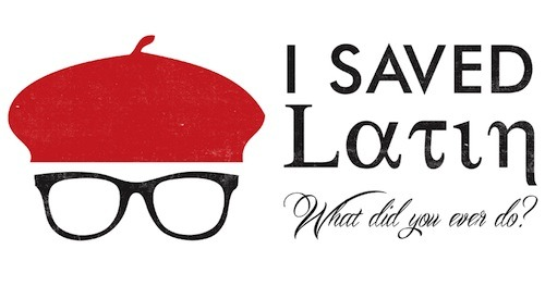detroitgorilla:  threadless:  I Saved Latin by ncotroneo is up for scoring on Threadless! Have you saved any dead languages lately?  For metropotamia because it already is.
