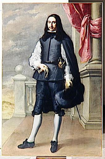 Portrait Of Inigo Melchor Fernández de Velasco, 1659, Bartolome Esteban Murillo #murillo#bartolomeestebanmurillo#baroque
