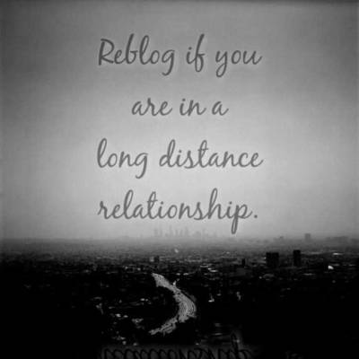 xomfgitsheatherx:  Are you in a long distance relationship? ♡