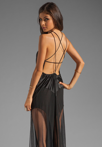 rockingcloset:  UNIF Ritual Pentagram Back Dress in Black @Revolve Clothing