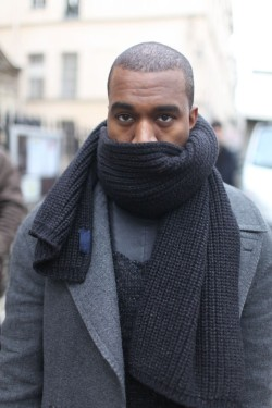 Check out what Kanye and other steezy dudes are wearing at PFW: womensweardaily:  They Are Wearing: Paris Men's Fashion Week Photo by Kuba Dabrowski