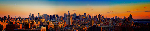 pixielatedpixels:  A Midtown From Uptown Panorama A few exposures stitched together, taken hand held on a very windy evening on a friends roof at the Upper West Side of Manhattan Click here and visit my main web site at Pixielated Pixels where a huge collection of my images can be found to view and purchase in many diverse sizes, formats and price ranges.