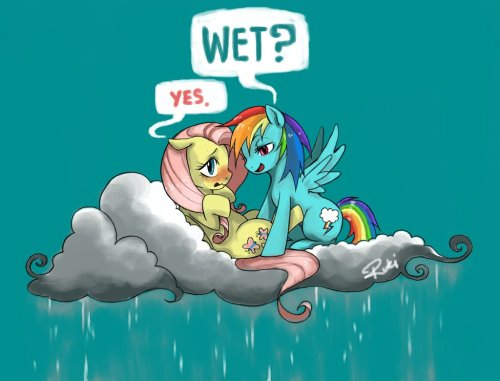 celestiawept2:  What's soaking wet and clueless? by ~Sgt-Barksworth   Oh…my.