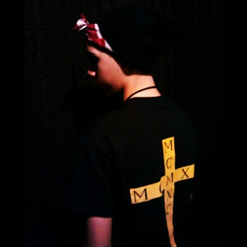immrtvlmcmxc:  #IMMRTVL #MCMXC #CROSS #Tee ShopImmortalMcmxc.bigcartel.com Modeled by @lordpeyote #streetwear #LasVegas #culture #style #fashion #dope #clothing #westcoast #1990 #90sbaby #plndr