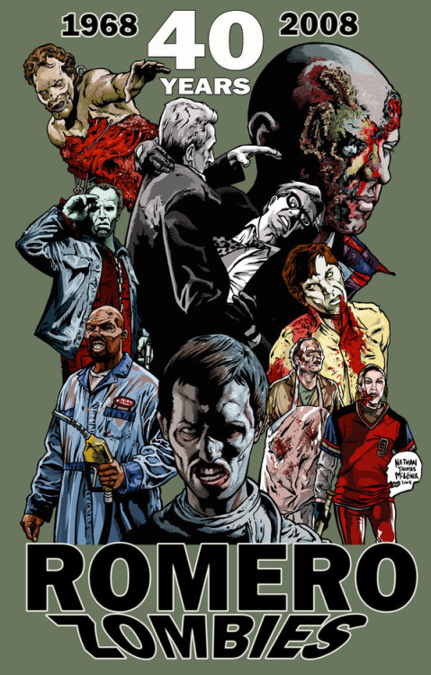 40 years of Romero's Zombies.