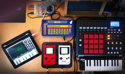it8bit:  Home Studio Gameboy/Chiptune Set Image by Massimiliano Liberatore